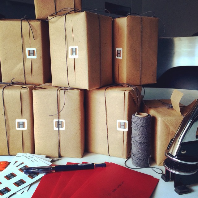 We are getting #ready for the holiday season! Gifts going out to our clients. So thankful for all the creative people we have worked with this year! Wishing everyone out there in the Instagram world a Happy Holidays! 🎄🎆🎉   #gifts #holiday #love #packaging #cute #crafts #twine #redemvelopes #embosser #HOUSEstudios #stickers #micromanagement #giftwrapping #diy #happy #joy #thattimeoftheyear #christmas #giftofgiving   HOUSEtribeca.com   photo retouching house (at House Studios LLC)