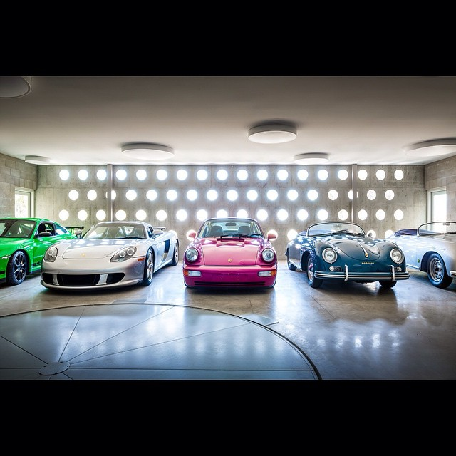 Photographed by @scottfrancesphoto for #stevenharrisarchitects. Featured in @townandcountrymag! #photography #Porsche #collection #sandiego #california #goodlife #garage #car #nicecars #automobile #rare #antique #custom #blue #silver #pink #green #perfect #love #mancave #sleek #living #architecture #housestudios ____________________________________ HOUSEtribeca.com photo-retouching house