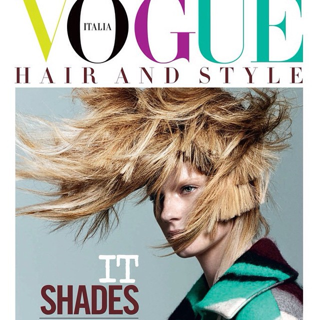 Did you see @dariocatellani 's story in @vogueitalia ? Go check it out if you haven't! #fashion #hairretouching #vogue #querellejansen #editorial #housestudios #style #coverstory