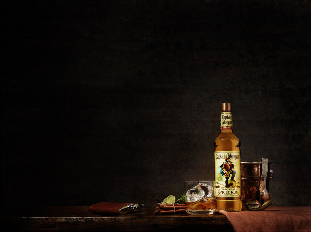 Aaron Graubart for Captain Morgan   Retouching:  HOUSE