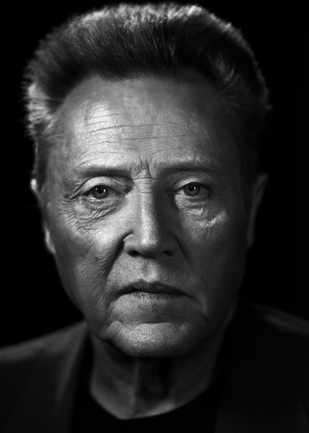 Photographer Scott Mcdermott, Actor Christopher Walken
