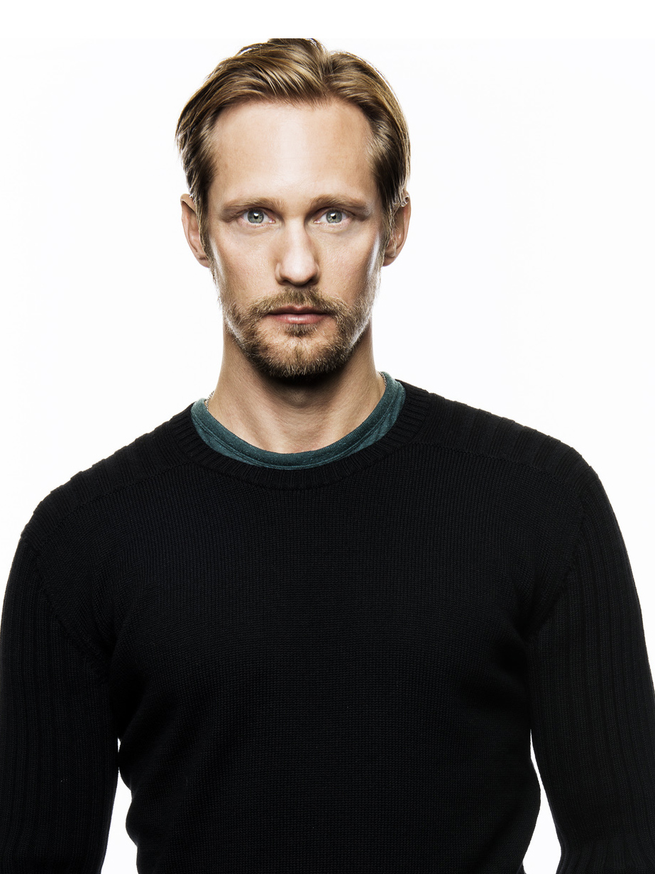 Photographer - Scott Mcdermott, actor - Alexander Skarsgard