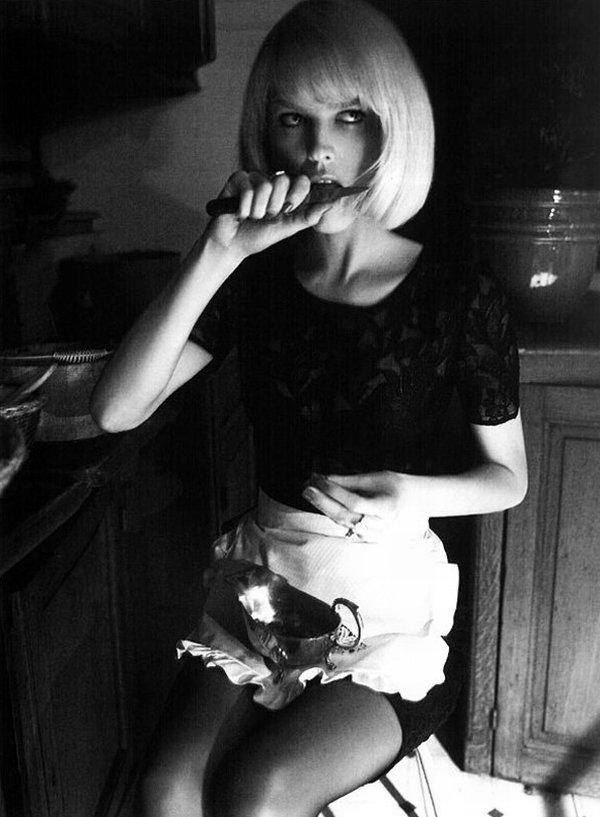 madame-deficit :     Eva Herizgova by Glen Luchford. Vogue Italia June 2010.     Reblog of some of our older Glen work for Vogue Italia