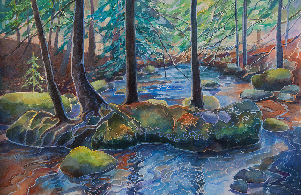 """Island In Barnum Brook"""