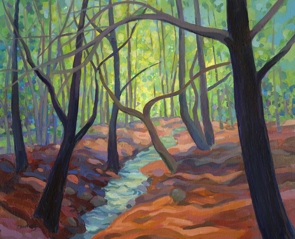 """""""Old Apple Trees by the Stream"""""""