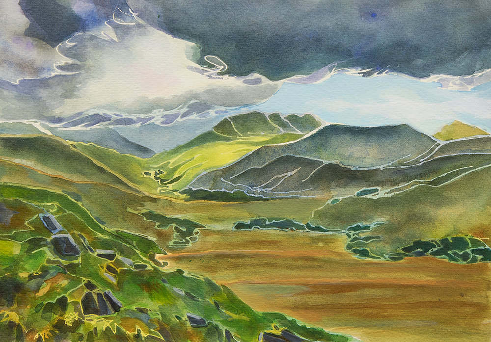 """Dark Clouds, Ring of Kerry"""