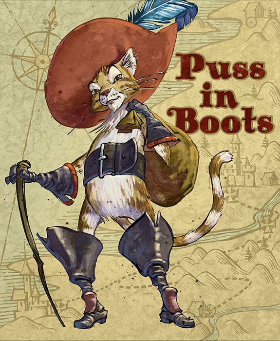 Puss in Boots: Map
