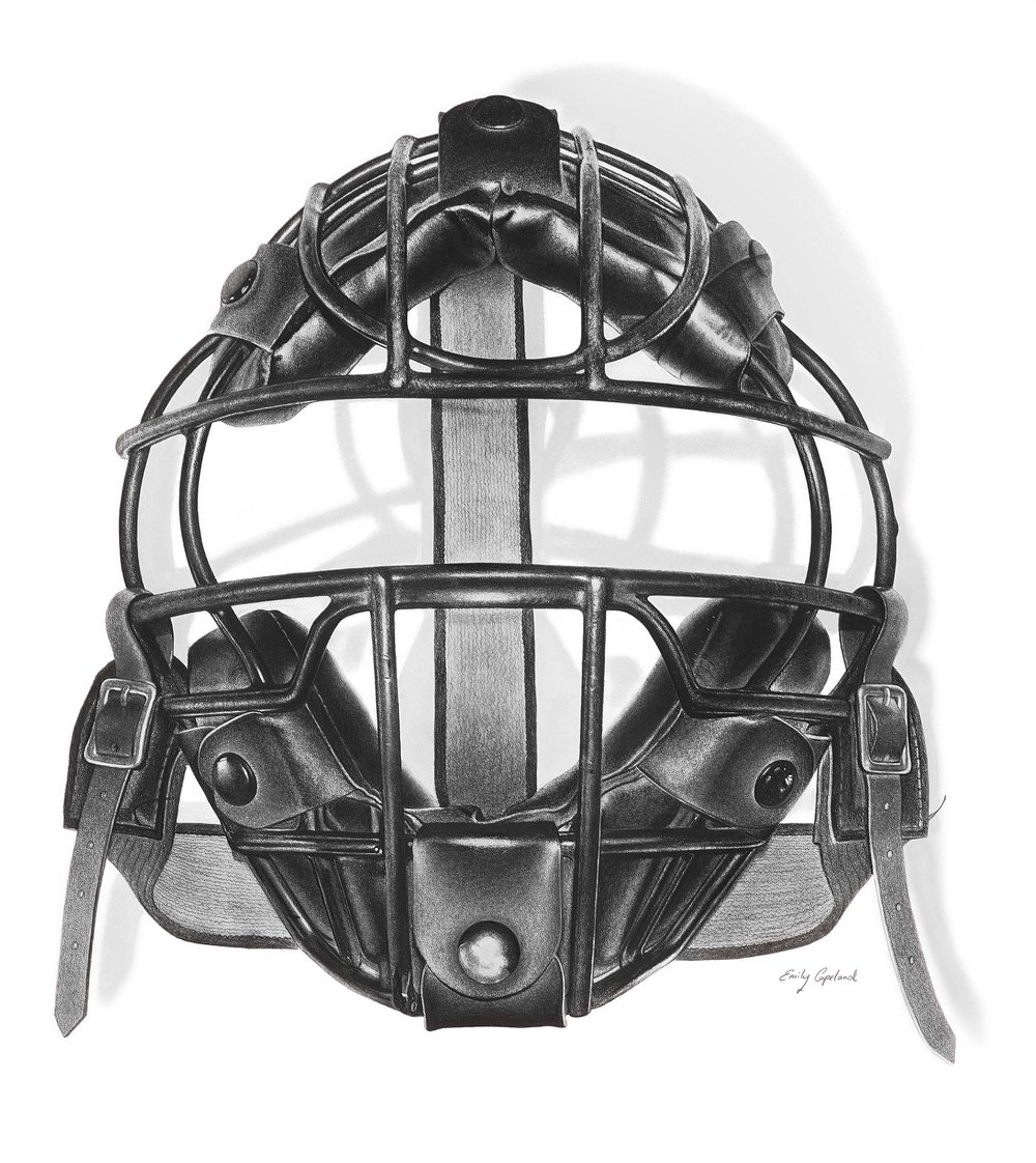 Vintage Baseball Catchers Mask