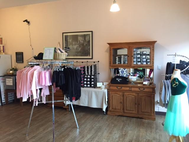 Our dance wear shop - stop in for your dance wear needs!
