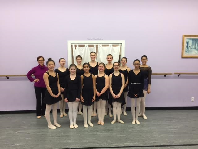 Our ballet enrichment class had the opportunity to take class with Diana byer, the director of the new York theatre ballet in January 2017.
