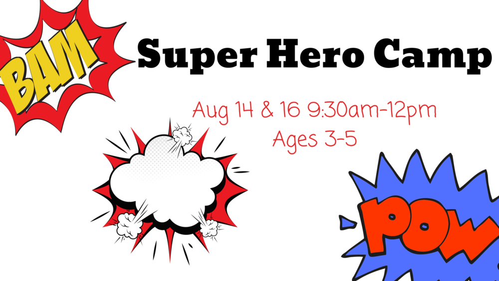 Super Hero Camp