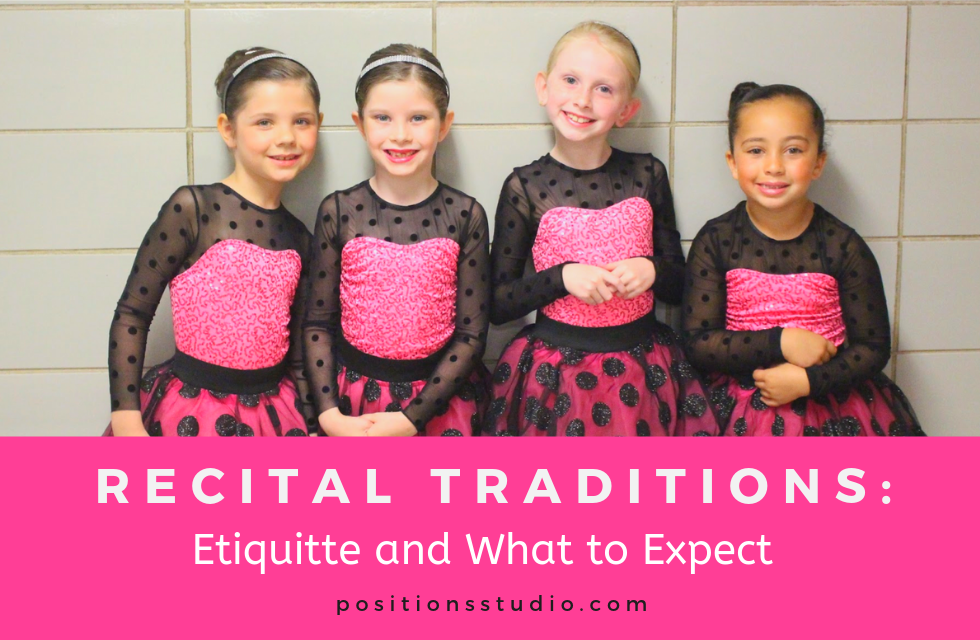 Recital Traditions: Etiquette and What to Expect