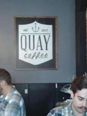 "Not joking: I google image-searched ""handlebar mustache barista"" after writing the above paragraph and this picture from one of my favorite spots in KC, Quay Coffee, showed up. Amazing."