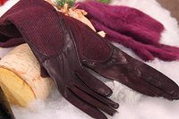 On Trend Leather Gloves