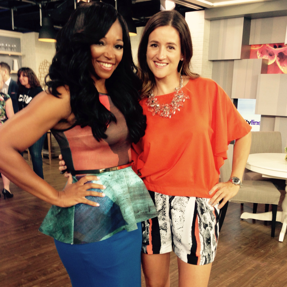 Janice Meredith, on Cityline with Tracy Moore