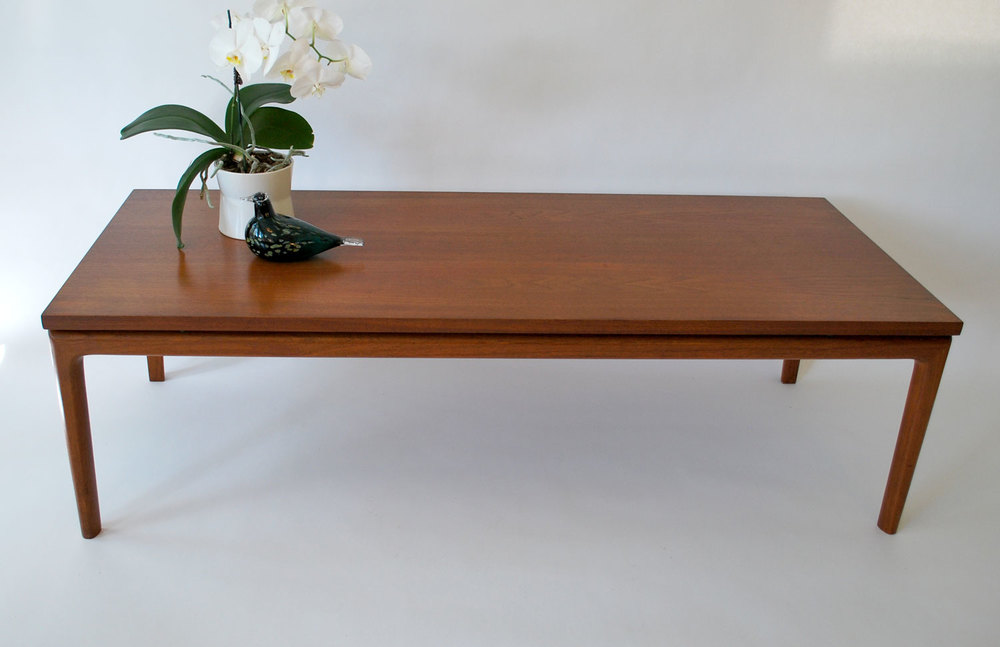 Charmant Very Fine, Large 1960s Teak Coffee Table With Floating Top Designed By Ole  Wanscher For France U0026 Son, Denmark   SOLD