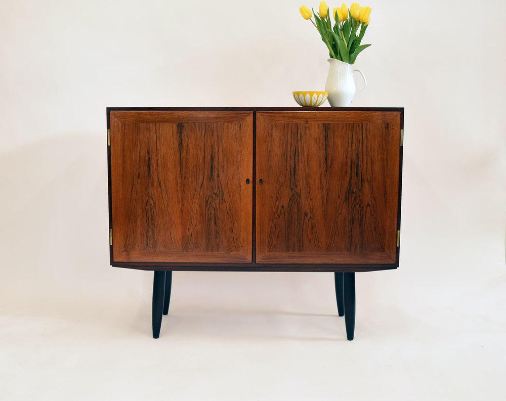 Vintage Danish Credenza : Petite danish credenza in rosewood sold u vintage modern maine