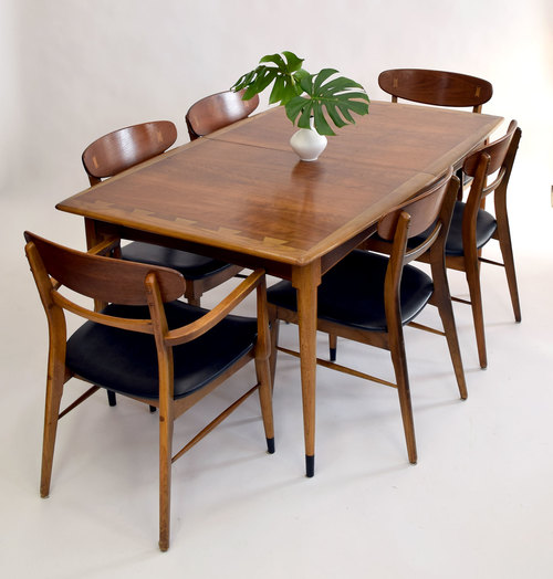 Outstanding Lane \'Acclaim\' Dining Table with Leaves - SOLD — Vintage ...