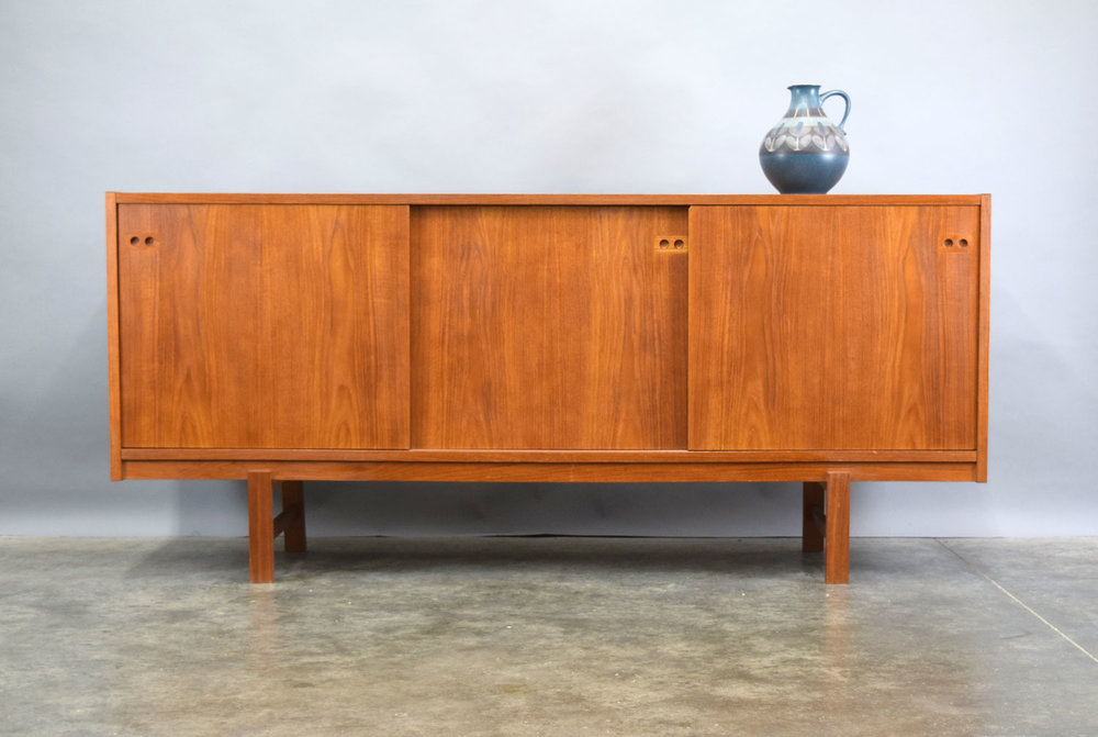 Danish Credenza For Sale : Danish teak credenza by ib kofod larsen sold u vintage modern maine