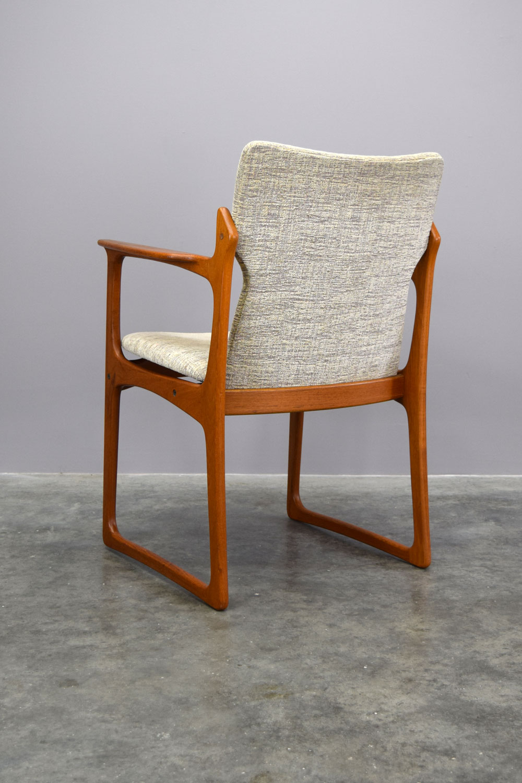 c47e4c352b3a4 Danish Teak Dining Chairs by Vamdrup Stolefabrik