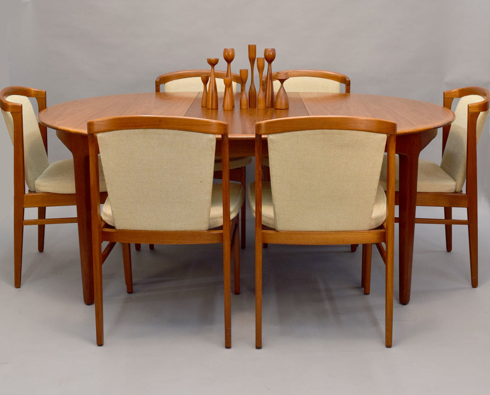 Rare Erik Buch Dining Chairs