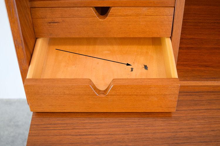 Groovy Model No. 68 Secretary Desk by Arne Wahl Iversen for Vinde QY66