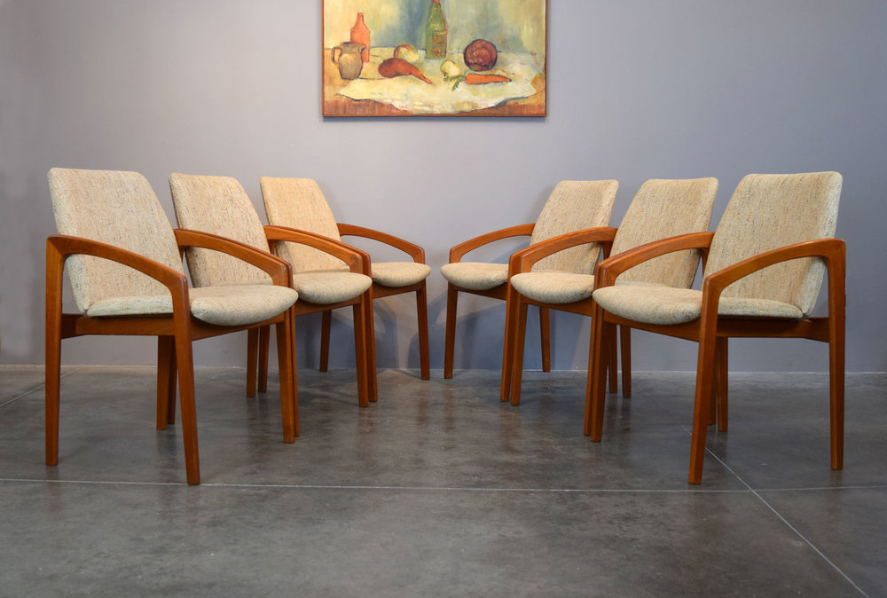 Kai Kristiansen for KS Mobler Chairs
