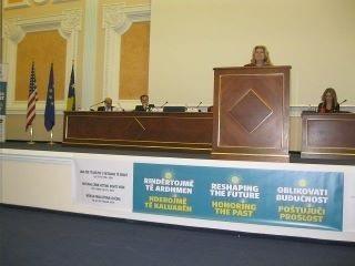Legislative chambers, Pristina, Kosovo