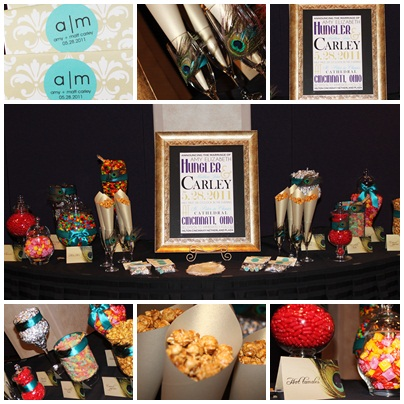 Cincinnati candy buffet-Dulce Designs