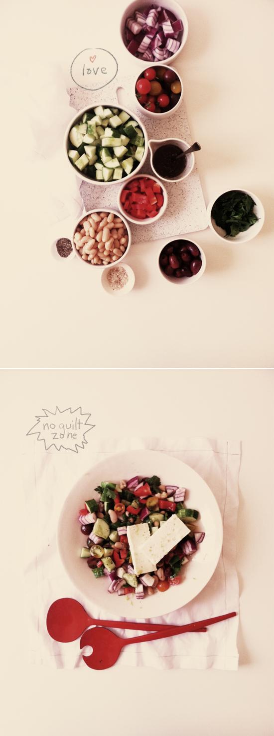 Greek Salad Jen Gotch