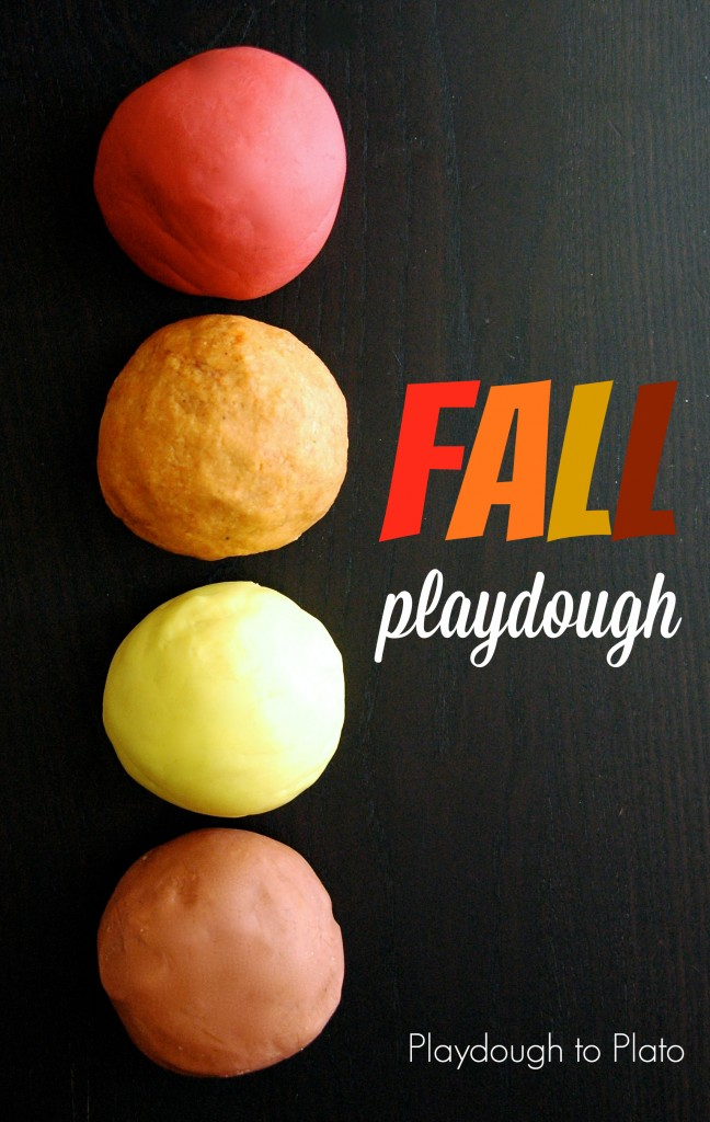 Photo and recipes courtesy of: Playdough to Plato