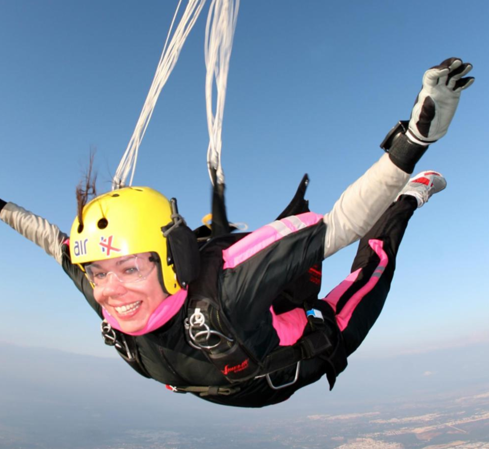 They eat, breath and sleep skydiving.