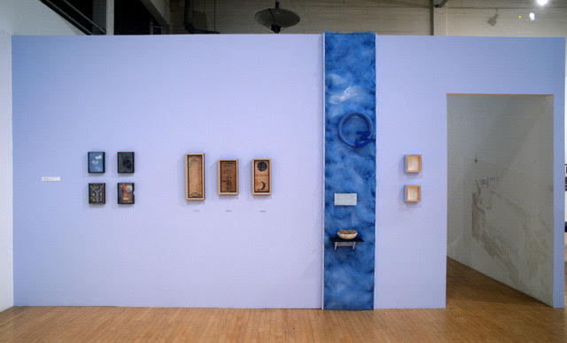 "Installation view of  ""OZONE""  at the Armory Center for the Arts in the exhibition curated by Noel Korten and Jay Belloli in 1999."