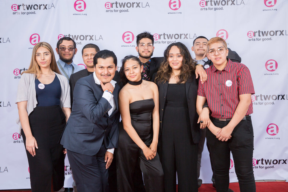artworxLA students