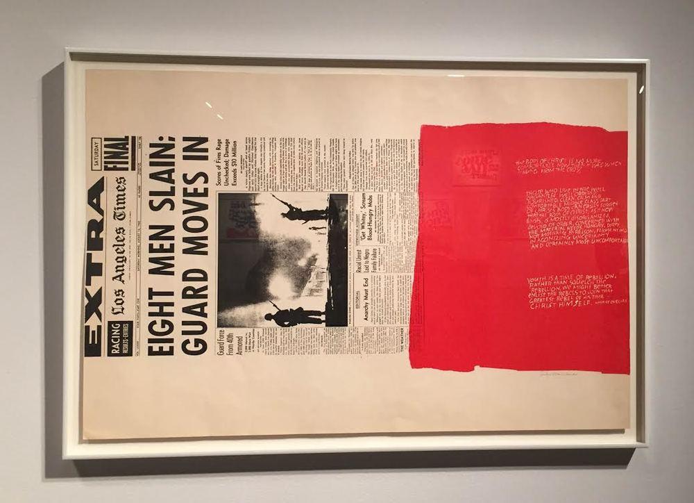 """Corita Kent, """"My People"""", 1965"""