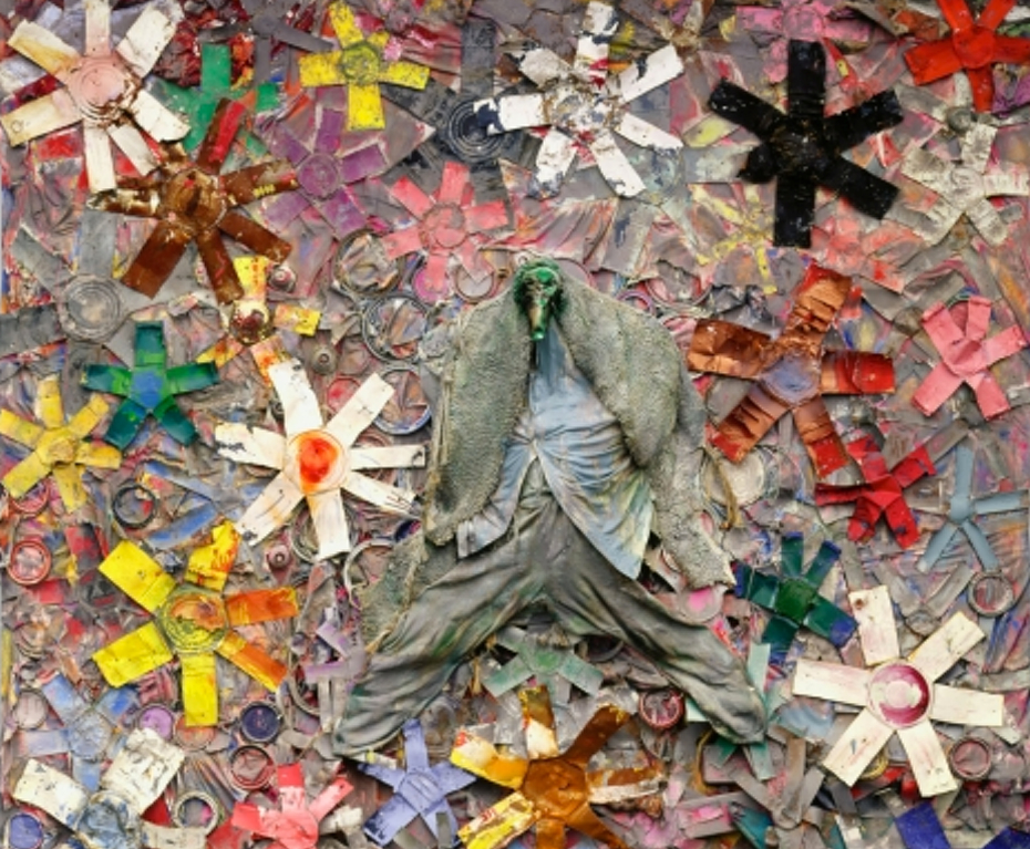 """Thornton Dial, """"Stars of Everything"""", 2004. Photo credit:  Souls Grown Deep"""