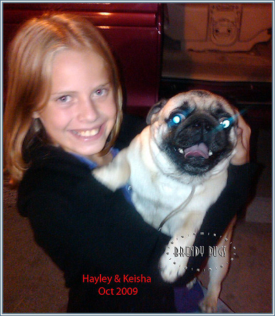 Hayley and Keisha2009