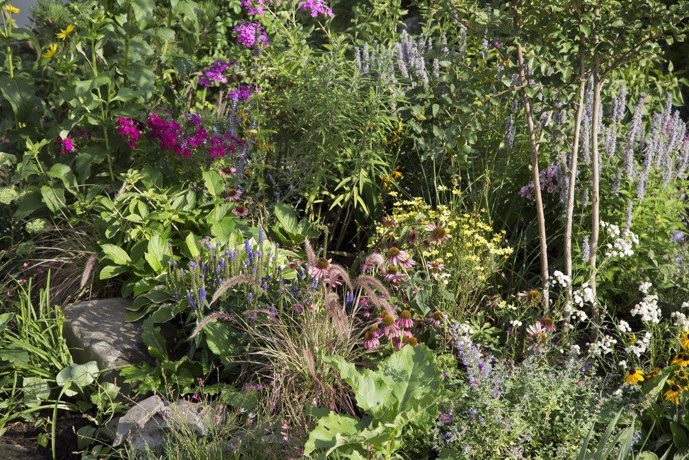 Charlotte planters raised bed garden design