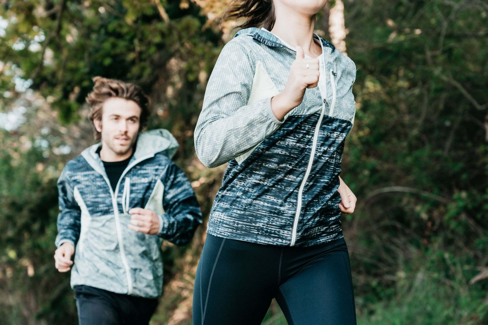 Men's and Women's GoLite ReGreen Windshell is designed with movement in mind.