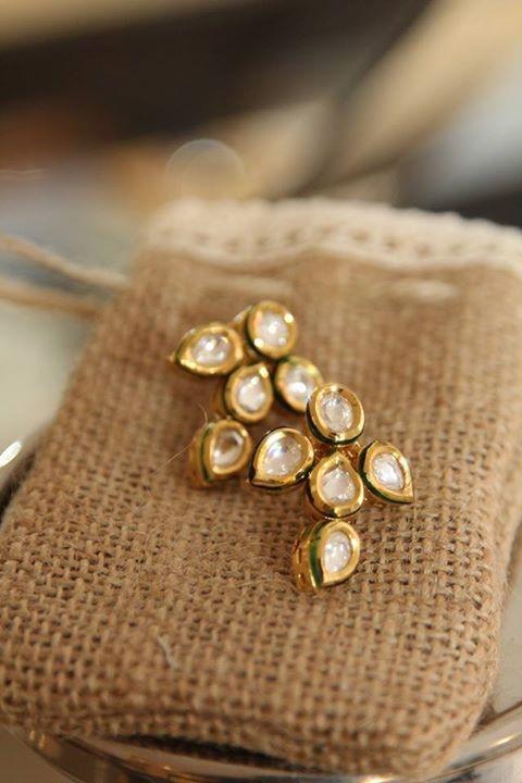 Purely Polki Earrings