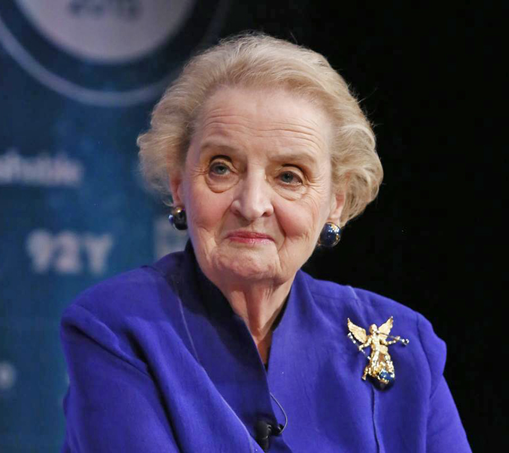 Madeleine Albright, immigrated in 1948 from Czechoslovakia