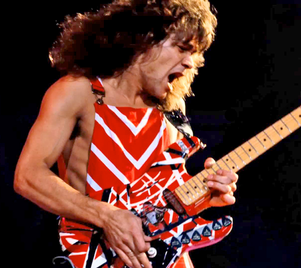 Eddie Van Halen immigrated from The Netherlands in 1962