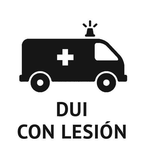 DUI con Lesiónes Consecuencias