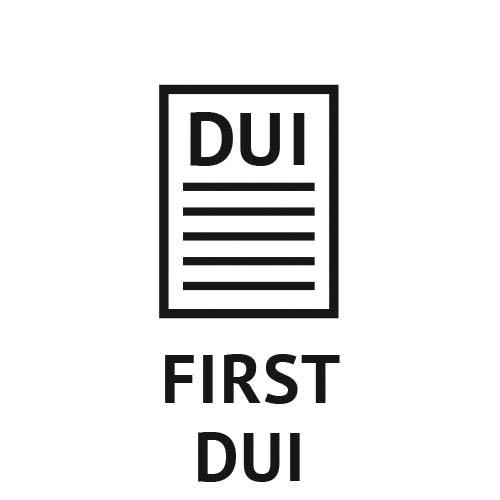 1st, First Misdemeanor California DUI penalties