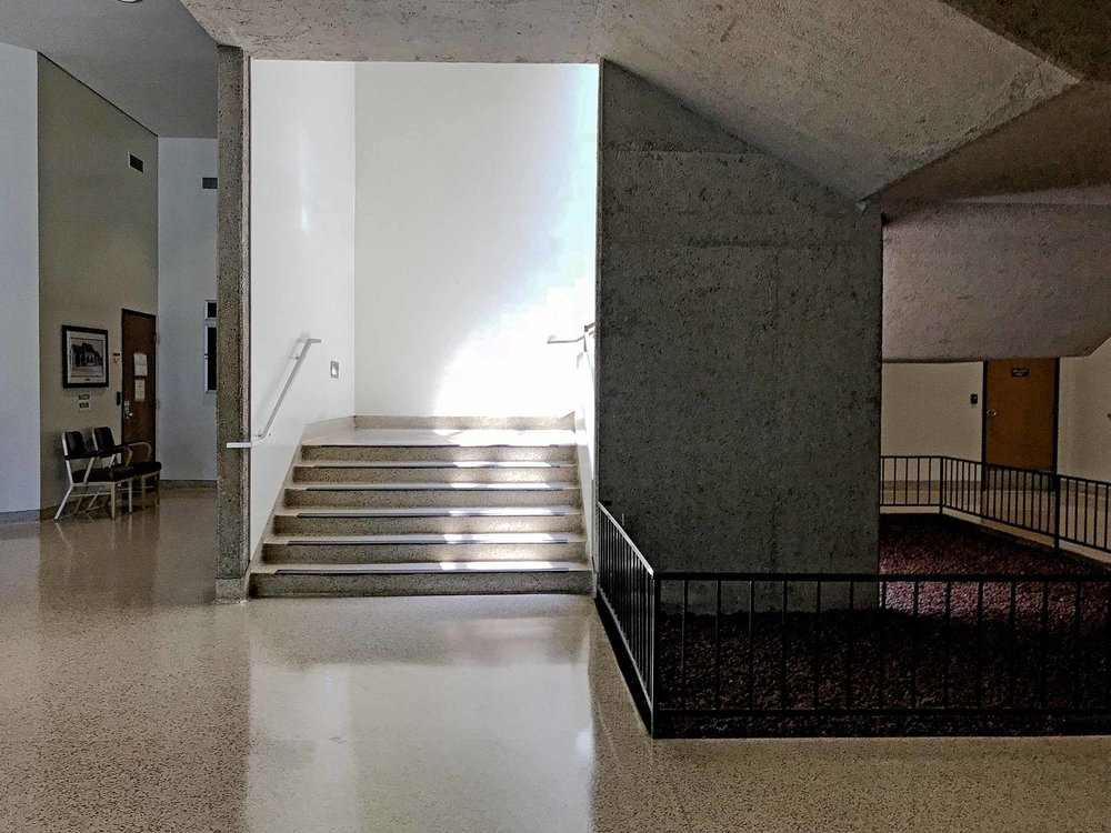 Interior of Harbor Justice Center, Newport Beach Courthouse