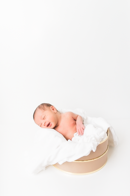 Natural Light Newborn Photographer - Carmel, IN