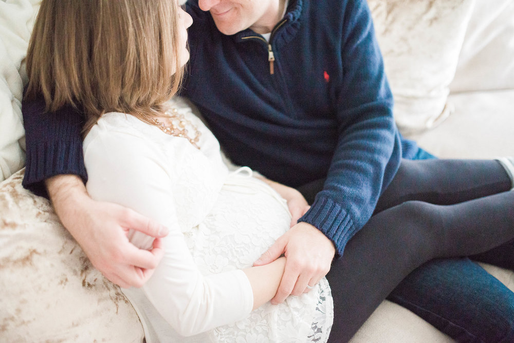 Carmel IN Natural Light Maternity & Newborn Photographer