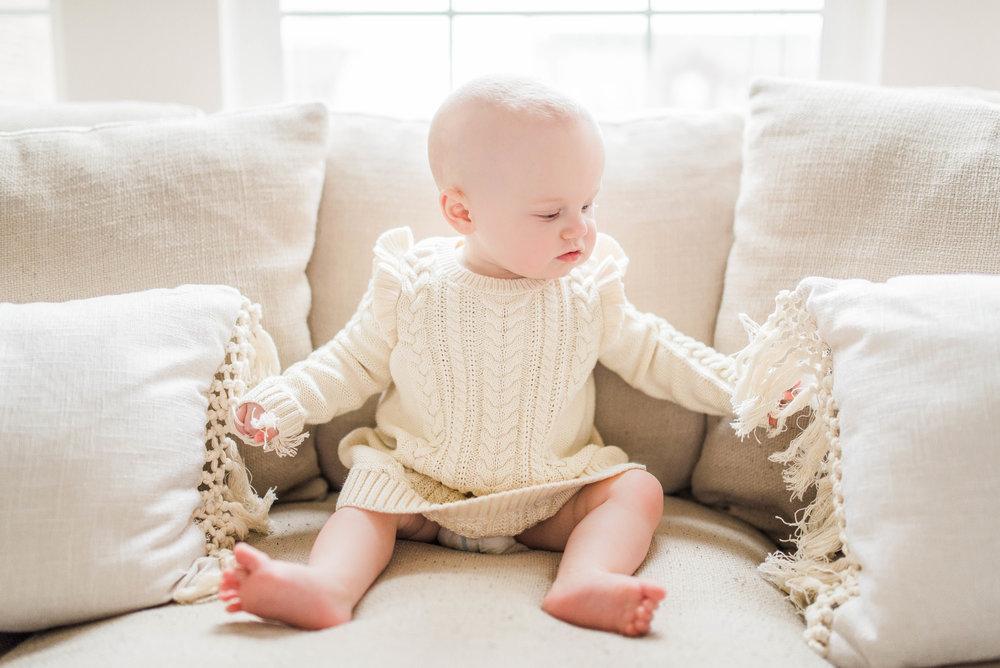 Noblesville, IN Newborn Photography & Baby Milestone Photographer