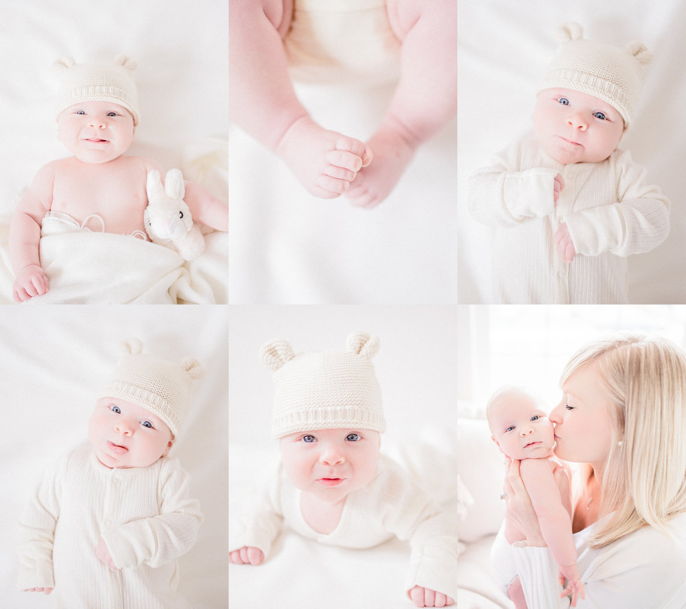 Light, Airy, Simple and Natural Noblesville Newborn Photography Studio | Katerina Marie Photography www.katmariepad.com
