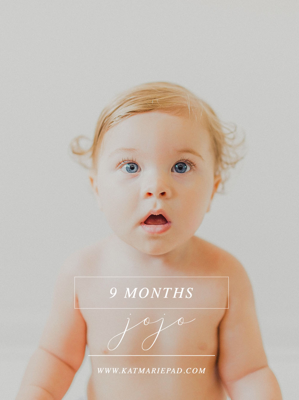JoJo | 9 Month Baby Milestone Photography Session with Mommy | Noblesville, IN